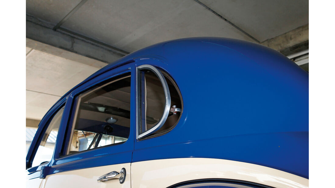 BMW 328, Seitenfenster