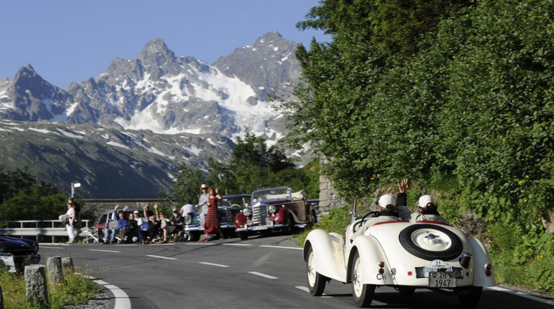 BMW 328 - Silvretta Classic 2010