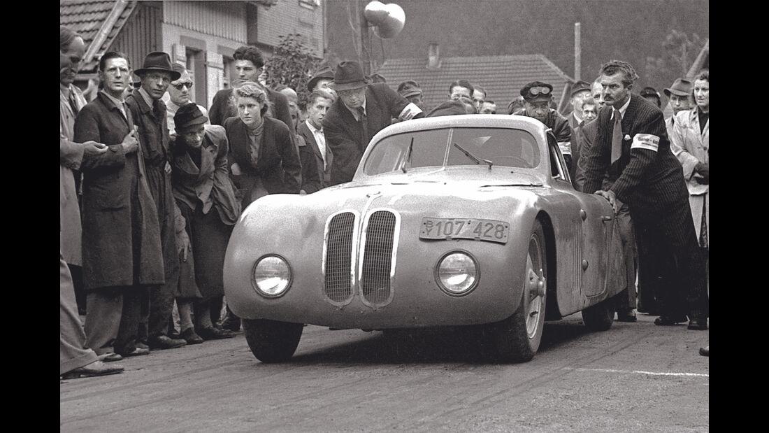 BMW 328 Touring - Baiersbronn-Obertal - Ruhestein - Bergrennen 1946