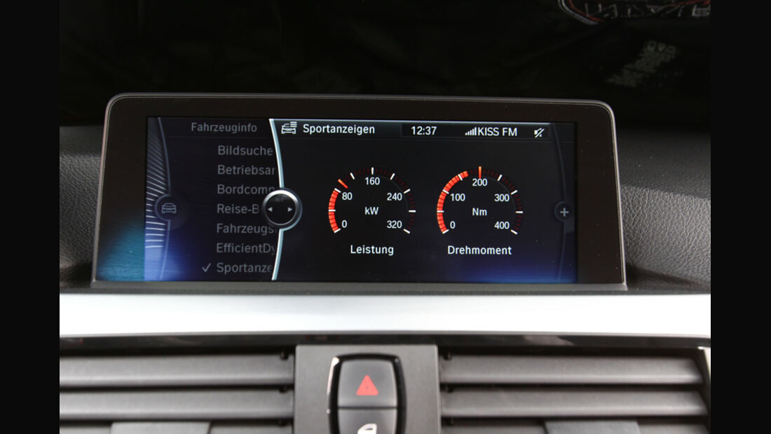 BMW 328i, Armaturen, Tacho