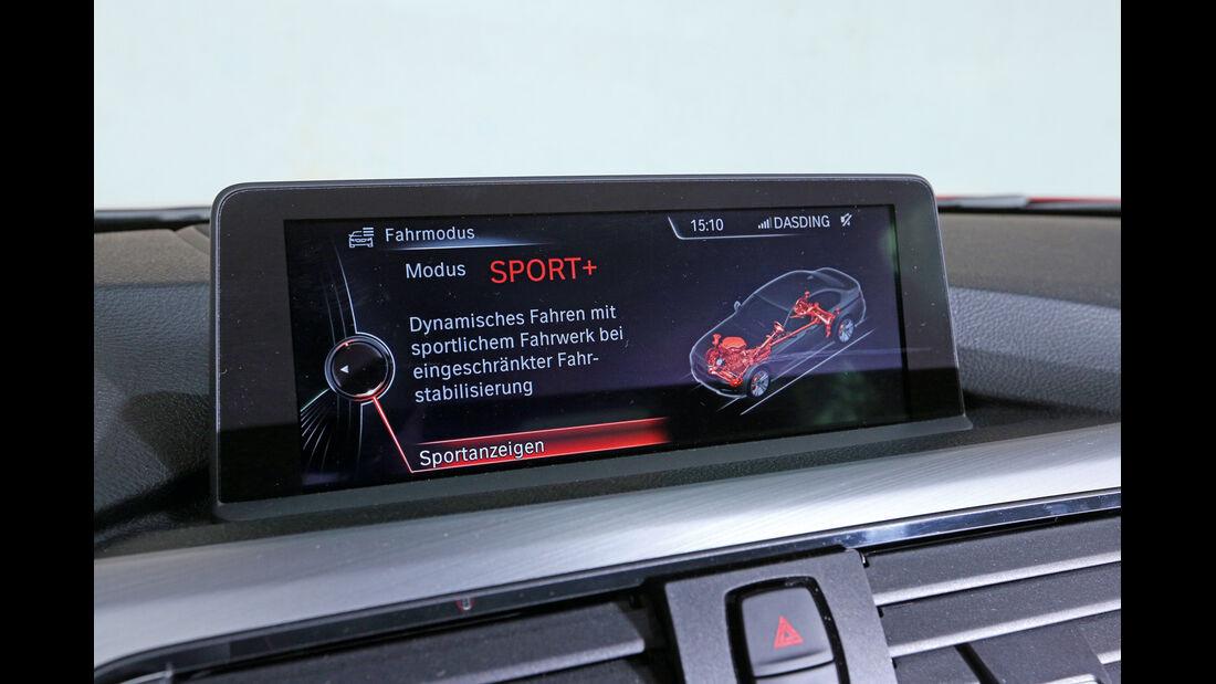 BMW 328i, Bordcomputer, Monitor