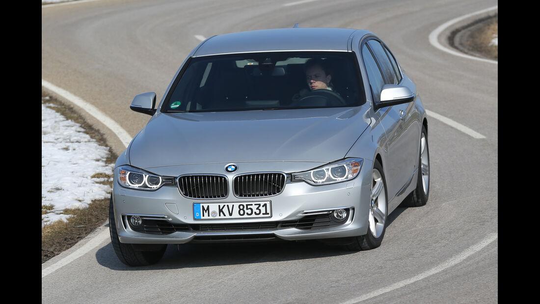BMW 328i, Frontansicht