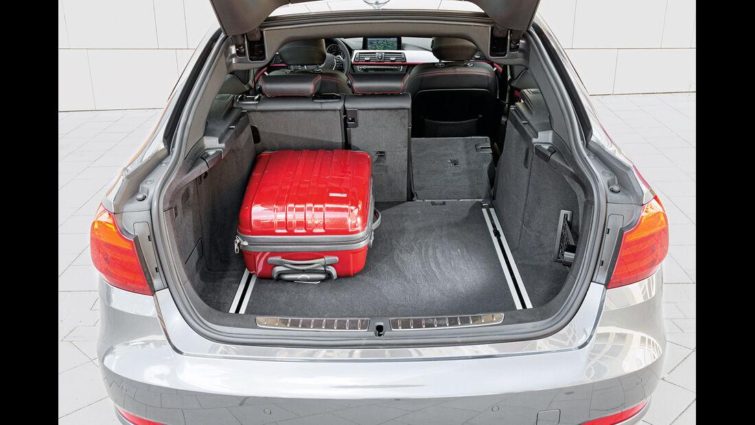 BMW 328i Gran Turismo, Kofferraum