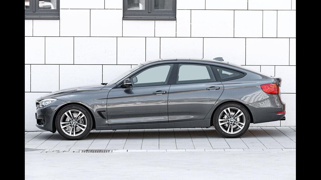 BMW 328i Gran Turismo, Seitenansicht