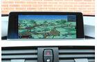 BMW 328i, Navi, Bildschirm