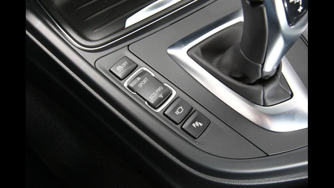 BMW 328i, Schalter, Sport+, Eco Pro