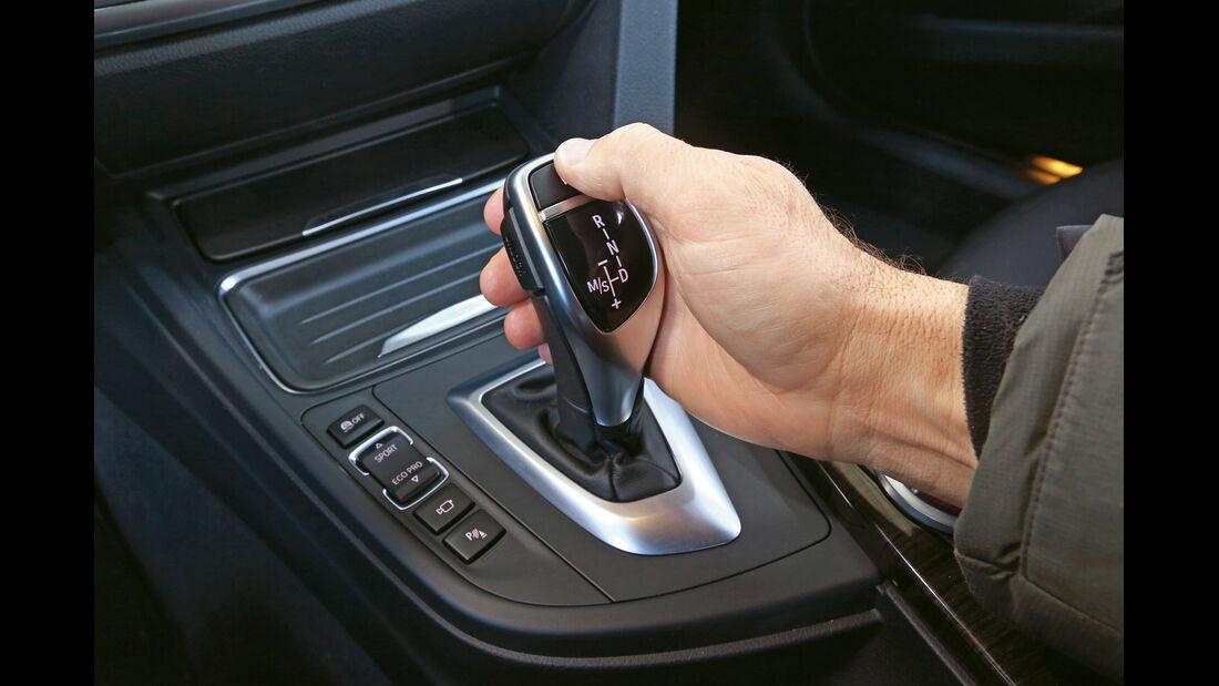 BMW 328i, Schalthebel, Schaltknauf