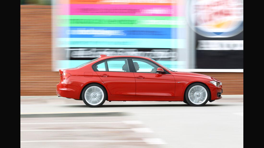 BMW 328i, Seitenansicht