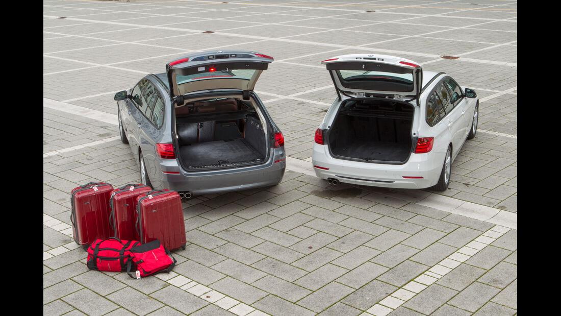 BMW 328i Touring, BMW 528i Touring, Hecklappe, Kofferraum