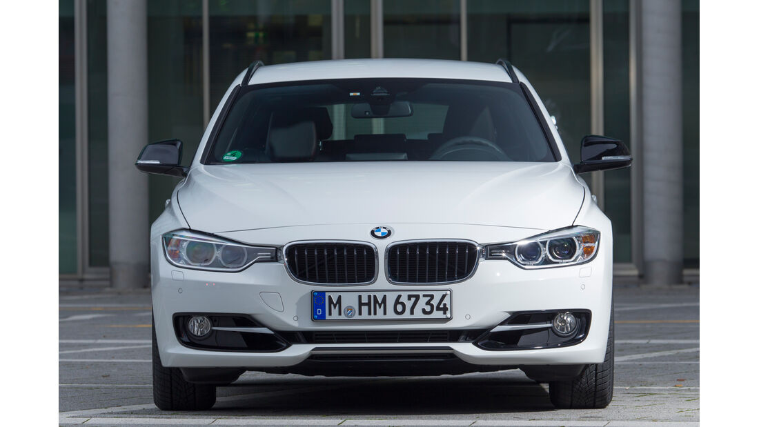 BMW 328i Touring,Frontansicht