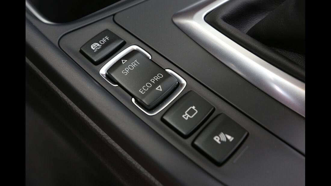 BMW 328i x-Drive, Bedienelemente