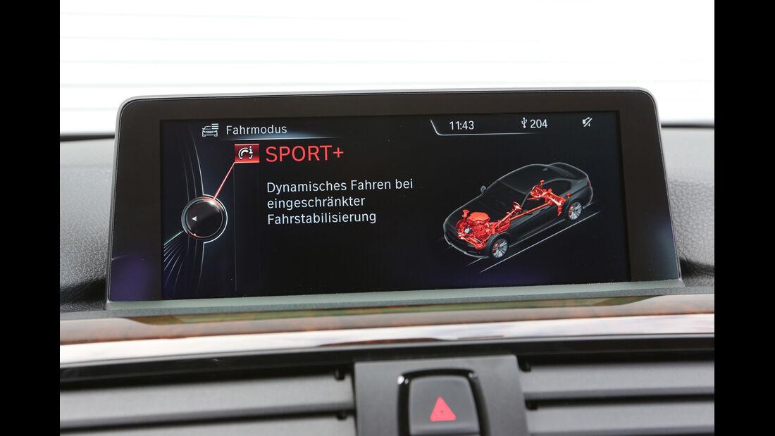 BMW 328i x-Drive, Bildschirm, Infotainment