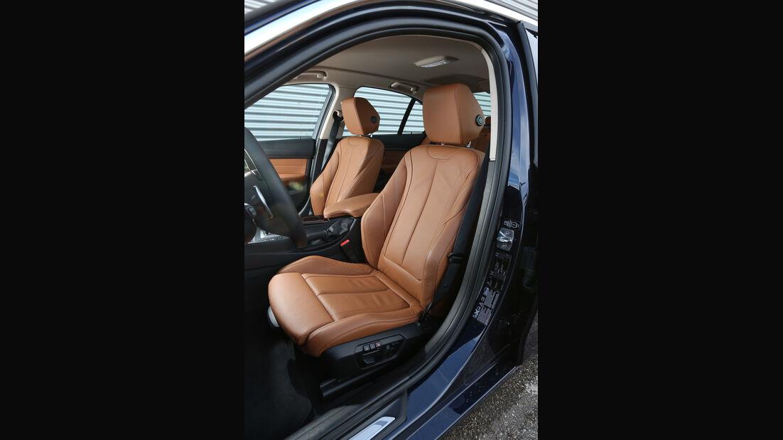 BMW 328i x-Drive, Fahrersitz