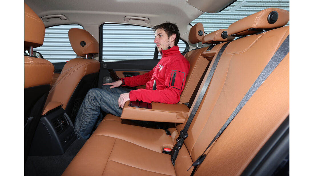 BMW 328i x-Drive, Fondsitz, Beinfreiheit