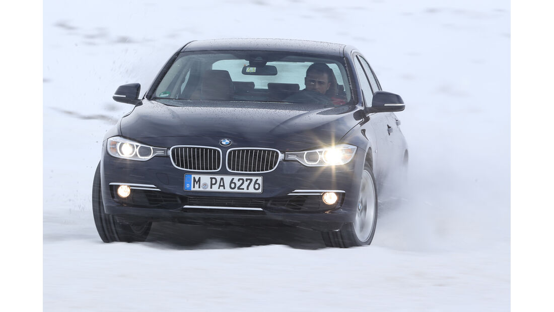 BMW 328i x-Drive, Frontansicht