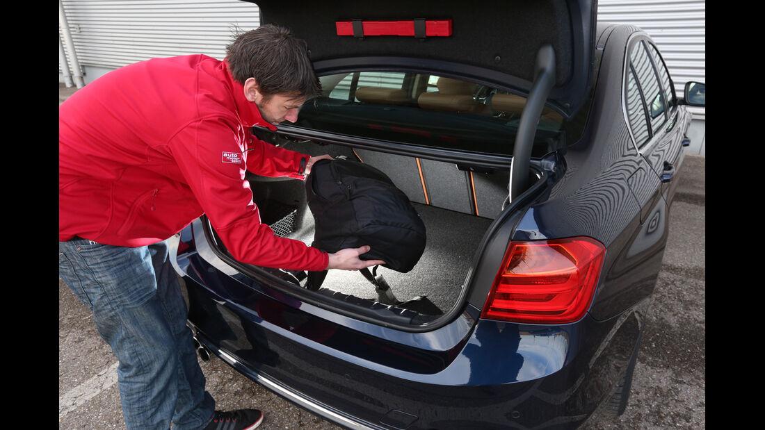 BMW 328i x-Drive, Kofferraum
