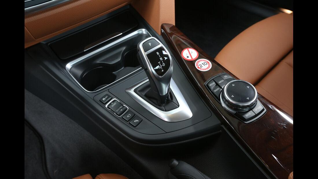 BMW 328i x-Drive, Schalthebel