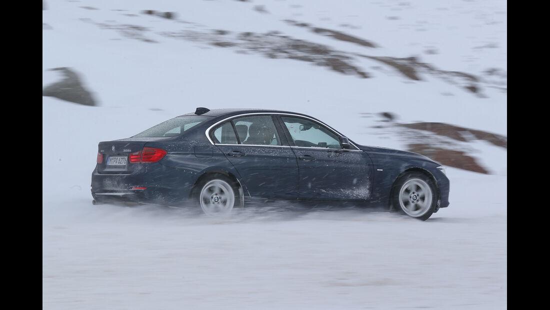 BMW 328i x-Drive, Seitenansicht
