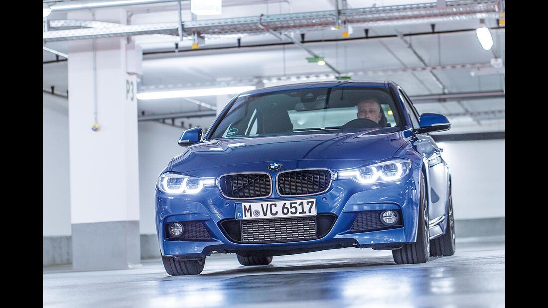 BMW 330d, Frontansicht