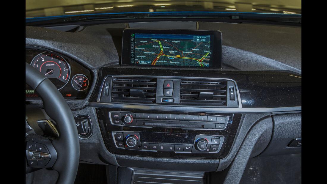 BMW 330d, Navi, Monitor