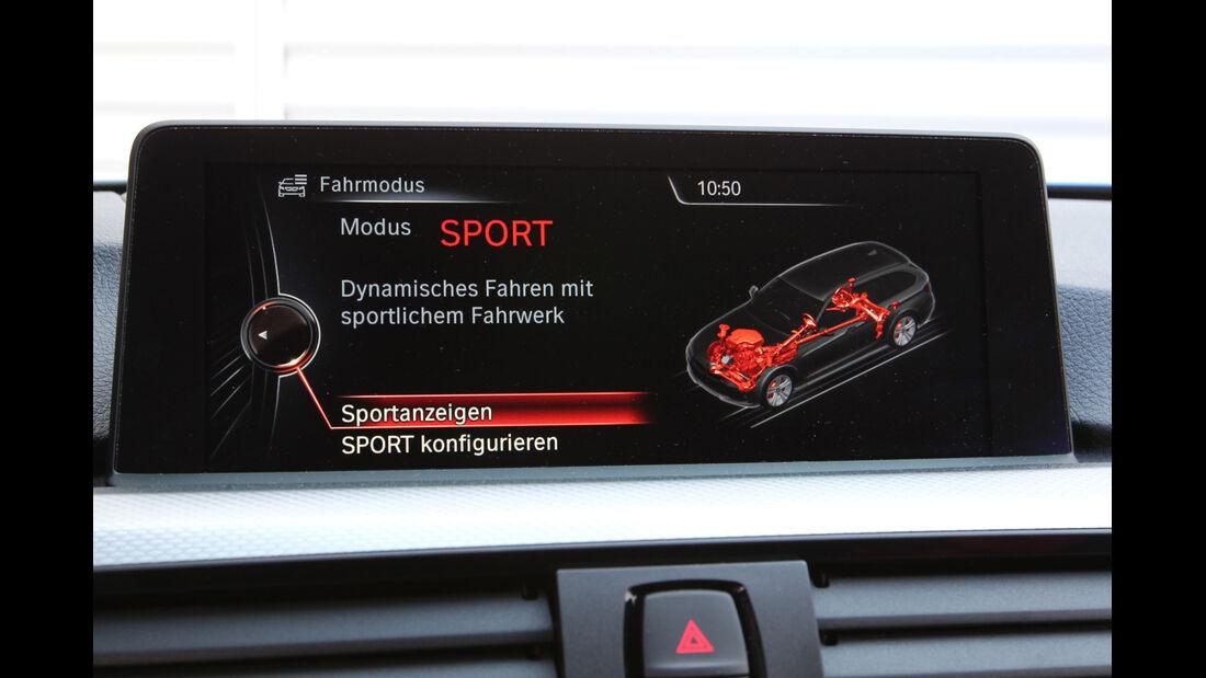 BMW 330d Touring, Bildschirm, Antrieb