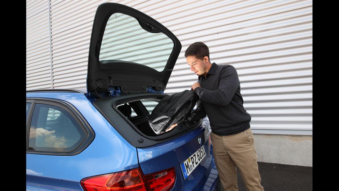 BMW 330d Touring, Kofferraum