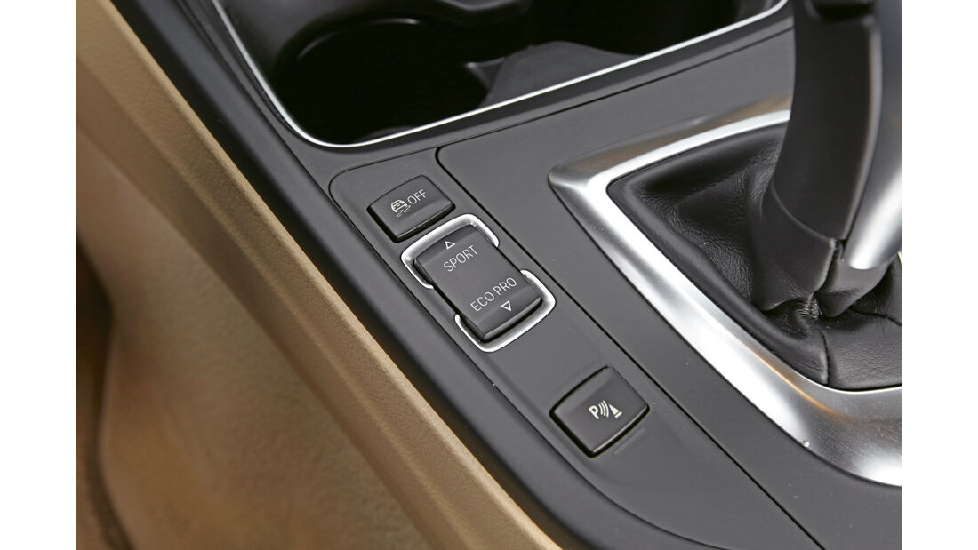 BMW 330d xDrive, Bedienelemente