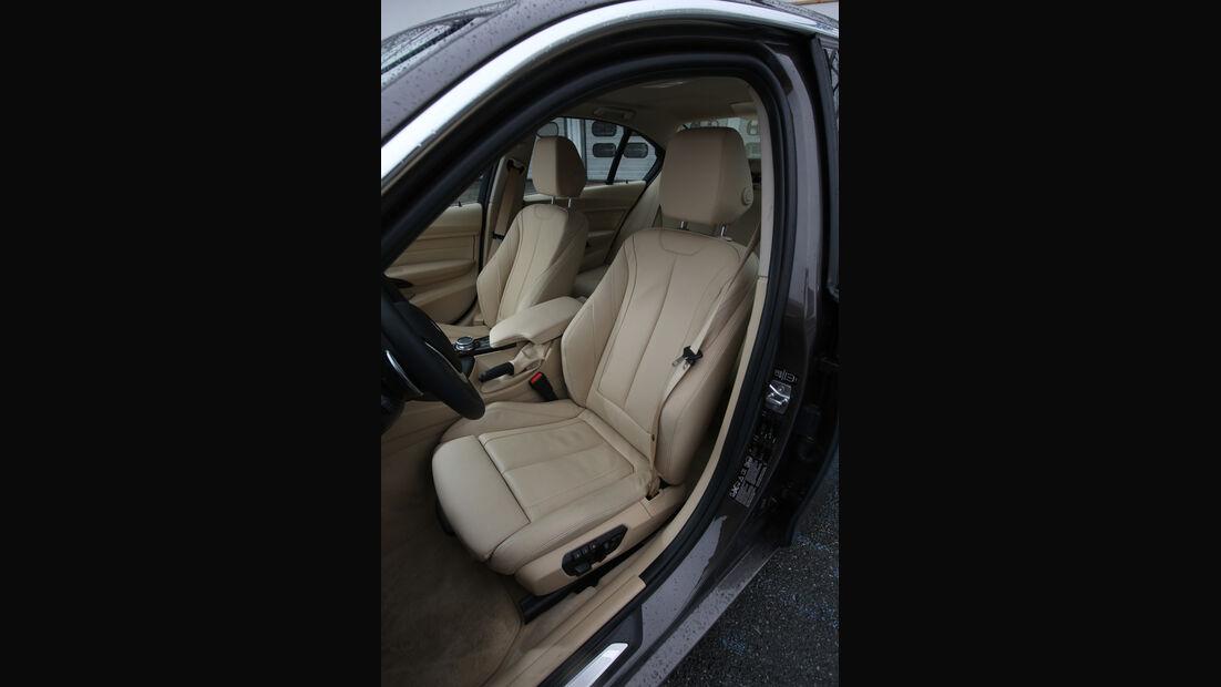 BMW 330d xDrive, Fahrersitz