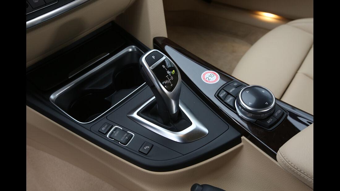 BMW 330d xDrive, Schalthebel