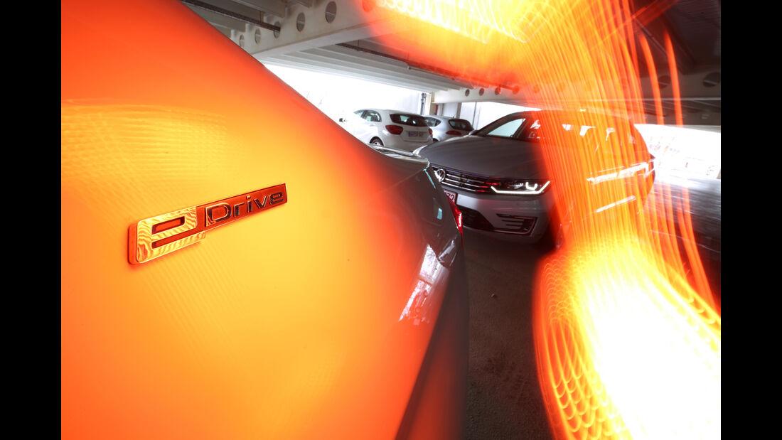 BMW 330e, VW Passat GTE, Impression