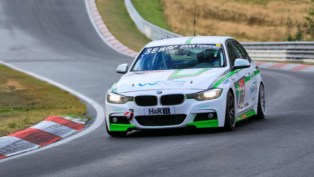 BMW 330i F30 - Manheller Racing - Startnummer #166 - Klasse: V2T - 24h-Rennen - Nürburgring - Nordschleife - 24. bis 27. September 2020