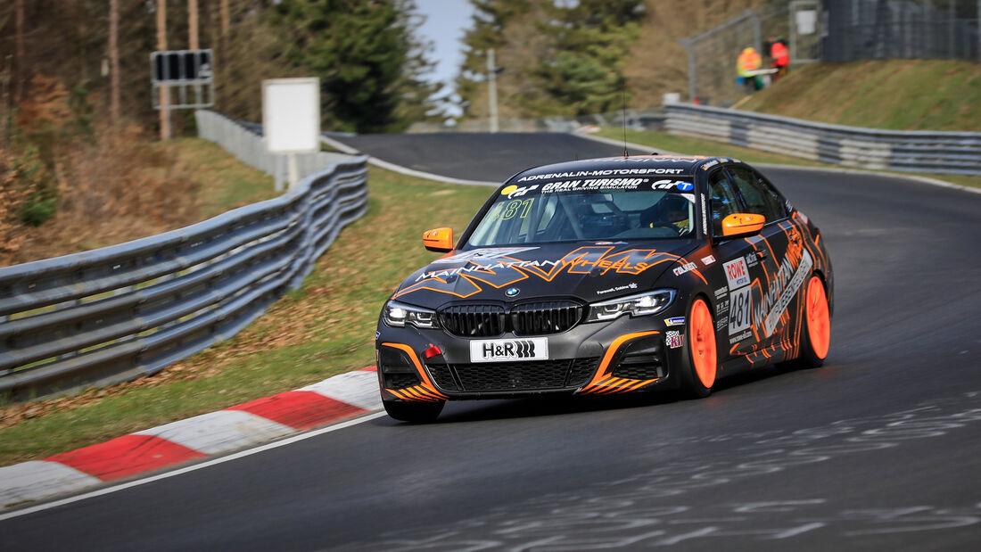 BMW 330i G20 - Startnummer #481 - Adrenalin Motorsport Team Alzner Automotive - VT2 - NLS 2021 - Langstreckenmeisterschaft - Nürburgring - Nordschleife