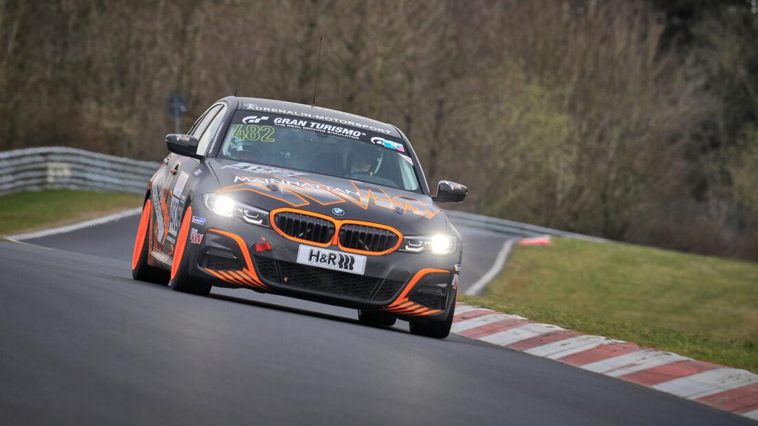 BMW 330i G20 - Startnummer #482 - Adrenalin Motorsport Team Alzner Automotive - VT2 - NLS 2021 - Langstreckenmeisterschaft - Nürburgring - Nordschleife