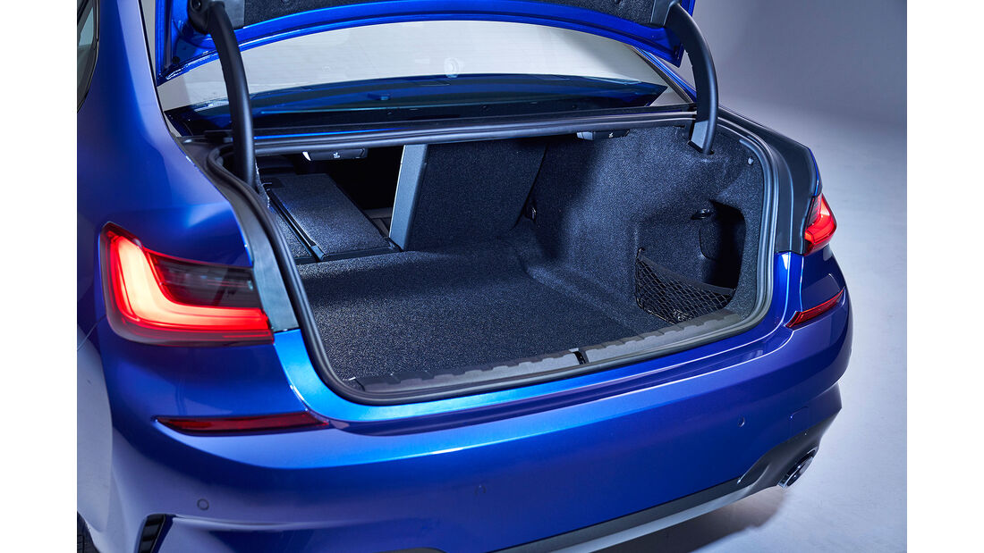 BMW 330i M Sport Limousine 3er G20 (2019) Kofferraum