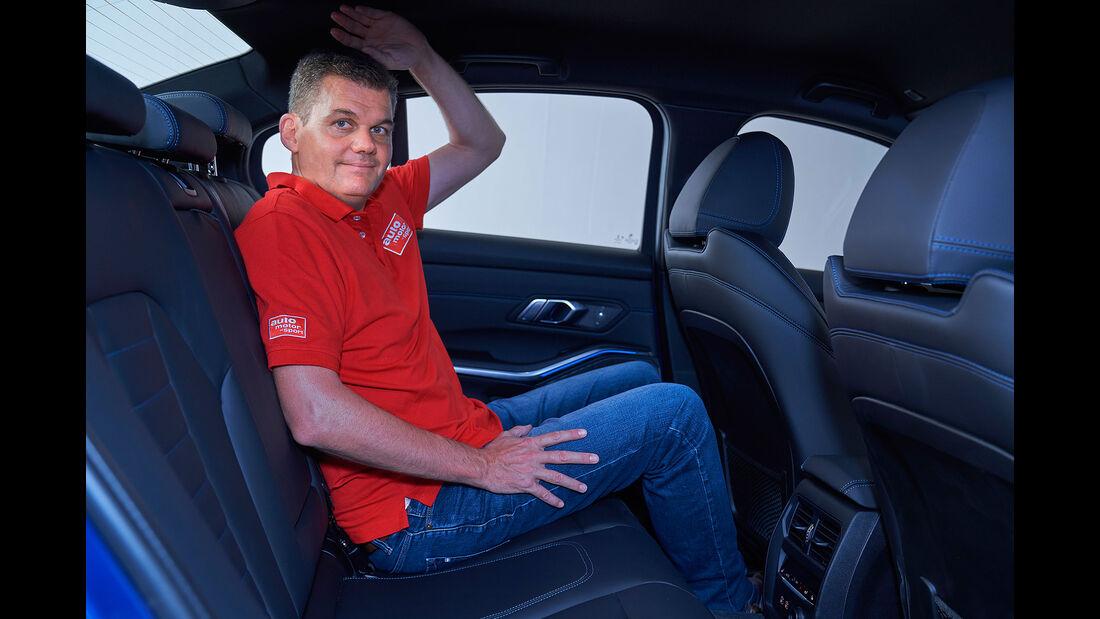 BMW 330i M Sport Limousine 3er G20 (2019) Sitzprobe