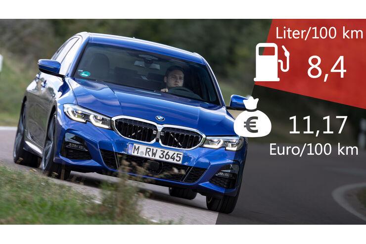 Kosten Und Realverbrauch Bmw 330i M Sport Auto Motor Und Sport
