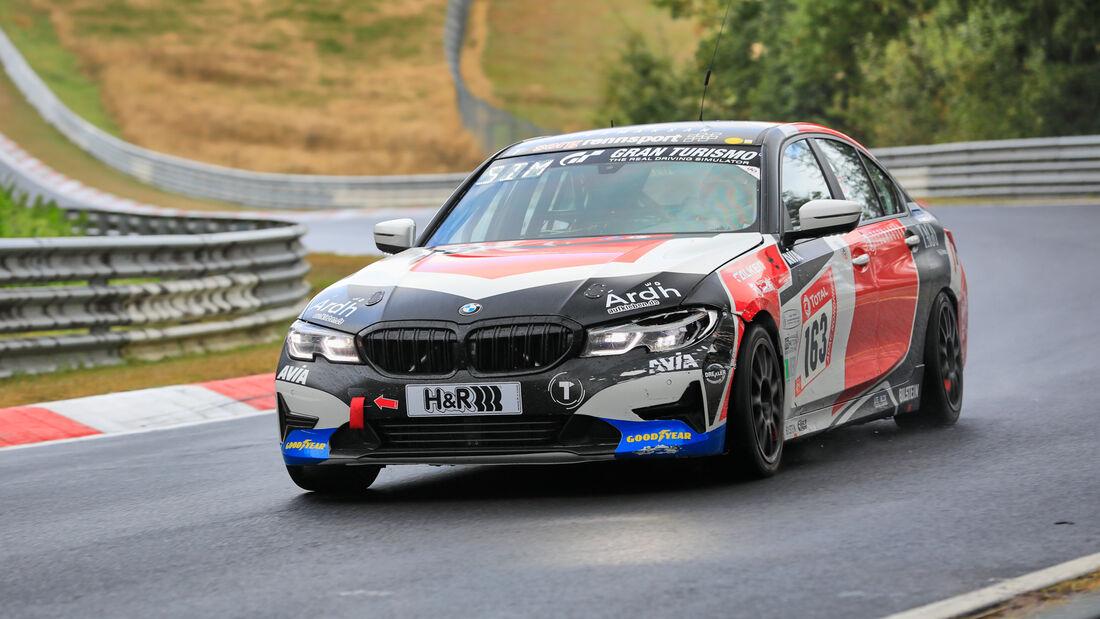 BMW 330i - Startnummer #163 - Klasse: V2T - 24h-Rennen - Nürburgring - Nordschleife - 24. bis 27. September 2020