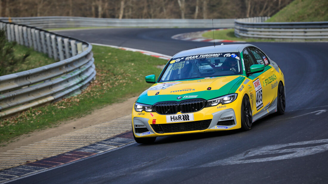BMW 330i - Startnummer #485 - FK Performance Motorsport - VT2 - NLS 2021 - Langstreckenmeisterschaft - Nürburgring - Nordschleife
