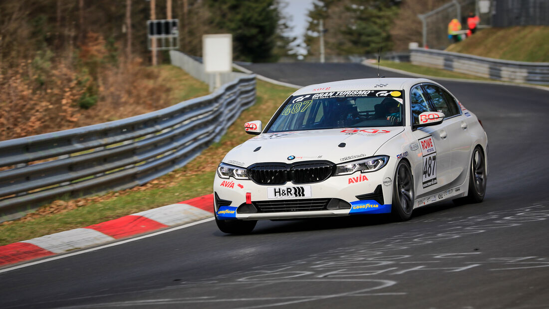 BMW 330i - Startnummer #487 - Team AVIA Sorg Rennsport - VT2 - NLS 2021 - Langstreckenmeisterschaft - Nürburgring - Nordschleife