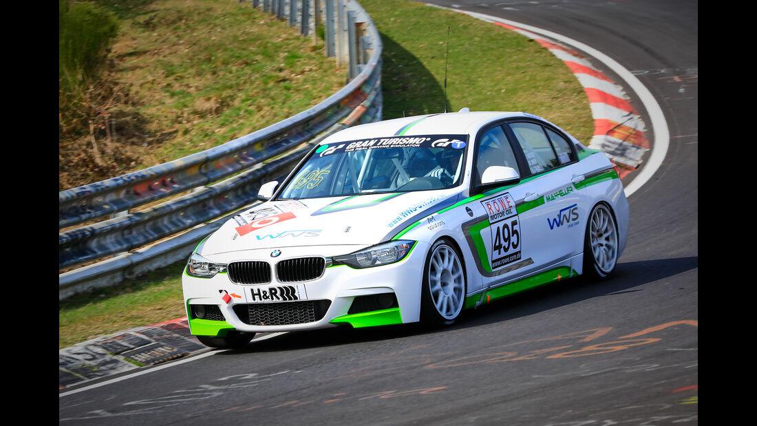 BMW 330i - Startnummer #495 - Manheller Racing - VT2 - VLN 2019 - Langstreckenmeisterschaft - Nürburgring - Nordschleife