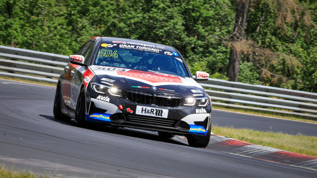BMW 330i - Startnummer #504 - Team AVIA Sorg Rennsport - VT2 - NLS 2020 - Langstreckenmeisterschaft - Nürburgring - Nordschleife