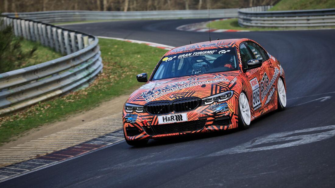 BMW 330i - Startnummer #505 - VT2 - NLS 2021 - Langstreckenmeisterschaft - Nürburgring - Nordschleife