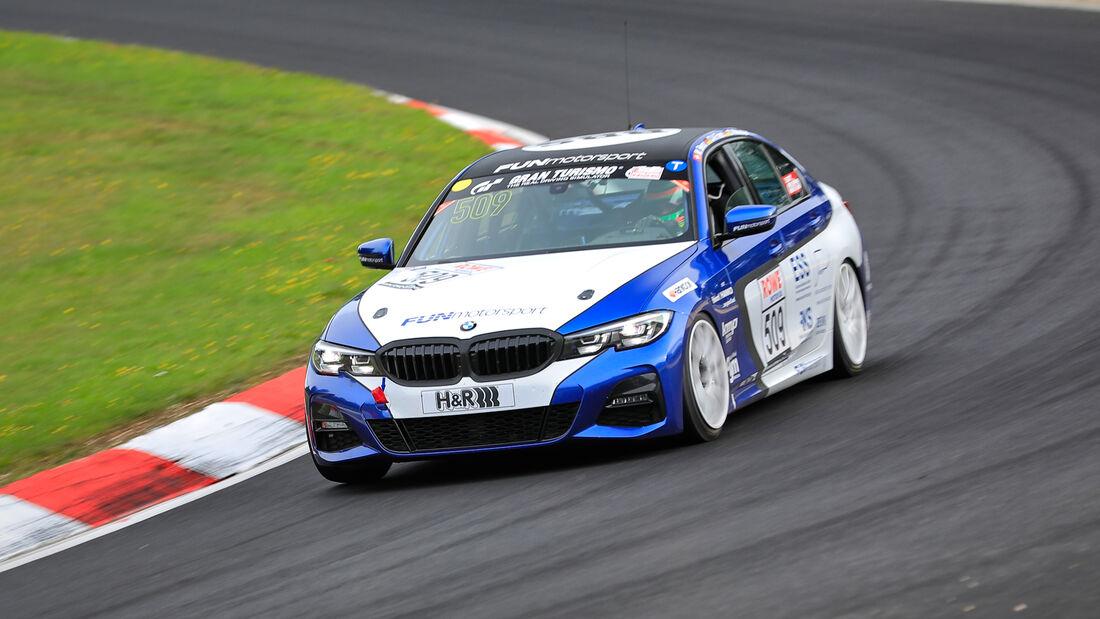 BMW 330i - Startnummer #509 - FUNmotorsport - VT2 - NLS 2020 - Langstreckenmeisterschaft - Nürburgring - Nordschleife