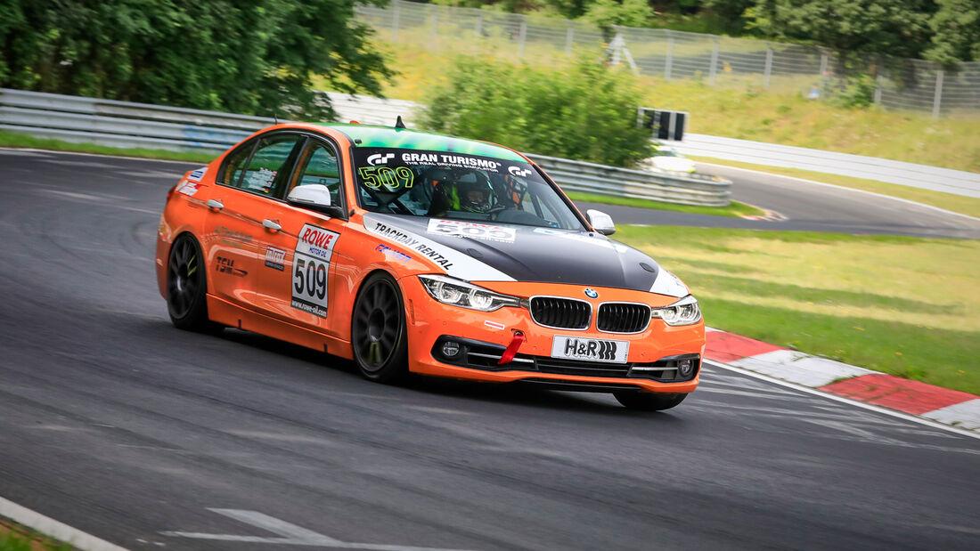 BMW 330i - Startnummer #509 - VT2 - NLS 2021 - Langstreckenmeisterschaft - Nürburgring - Nordschleife