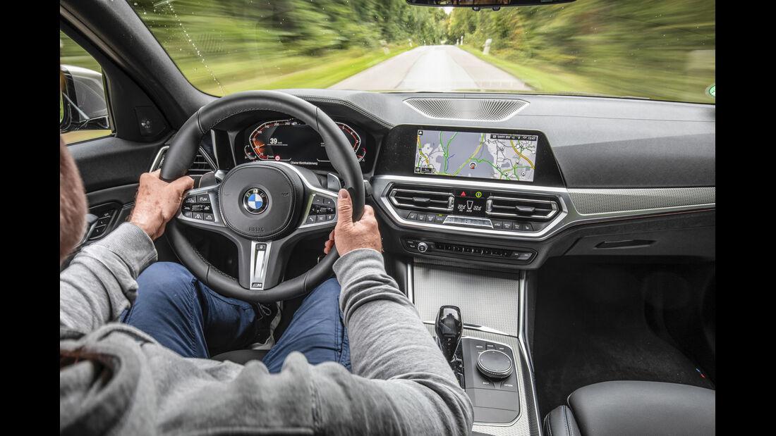BMW 330i Touring, Interieur