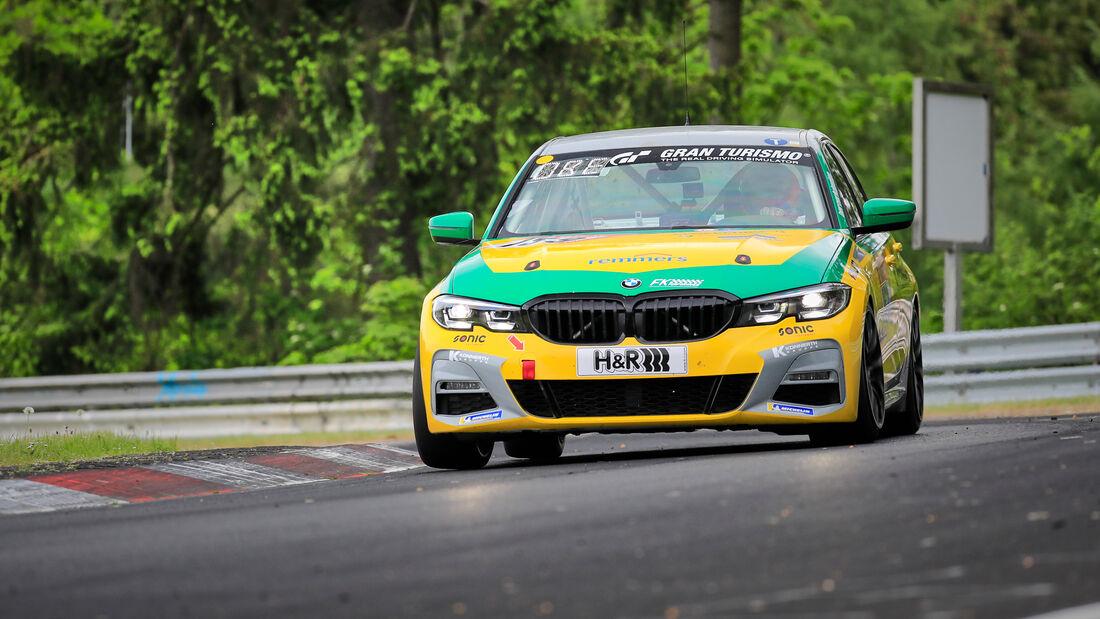 BMW 330i - fk Performance GbR - Startnummer #159 - Klasse: V2T - 24h-Rennen - Nürburgring - Nordschleife - 03. - 06. Juni 2021