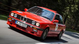 BMW 333i auf der Silvretta Classic 2015