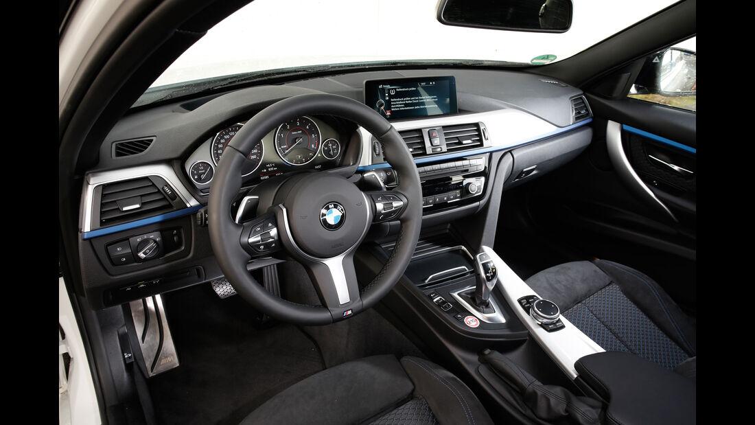BMW 335d xDrive, Cockpit