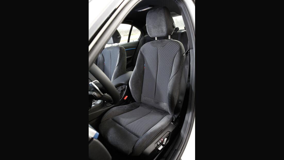 BMW 335d xDrive, Fahrersitz