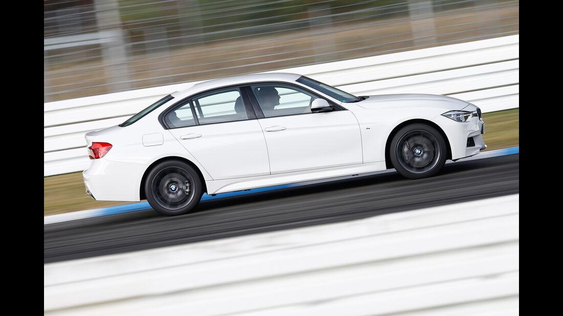 BMW 335d xDrive, Seitenansicht